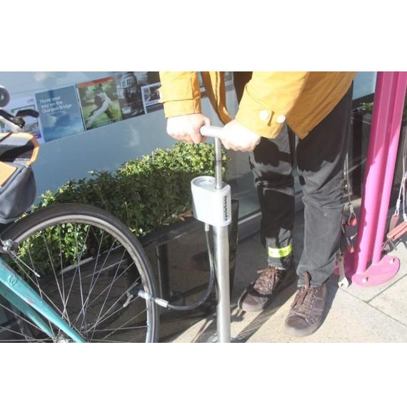 Inflador Públic Compacte de bicicletes