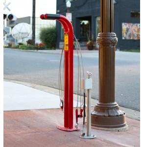 Inflador Público Compacto de bicicletas