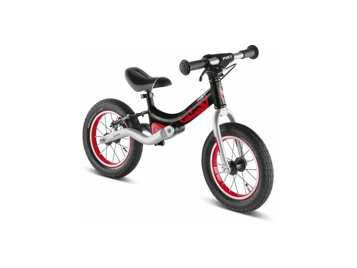 Bicicleta d'equilibri PUKY LR Ride Negre-Vermell