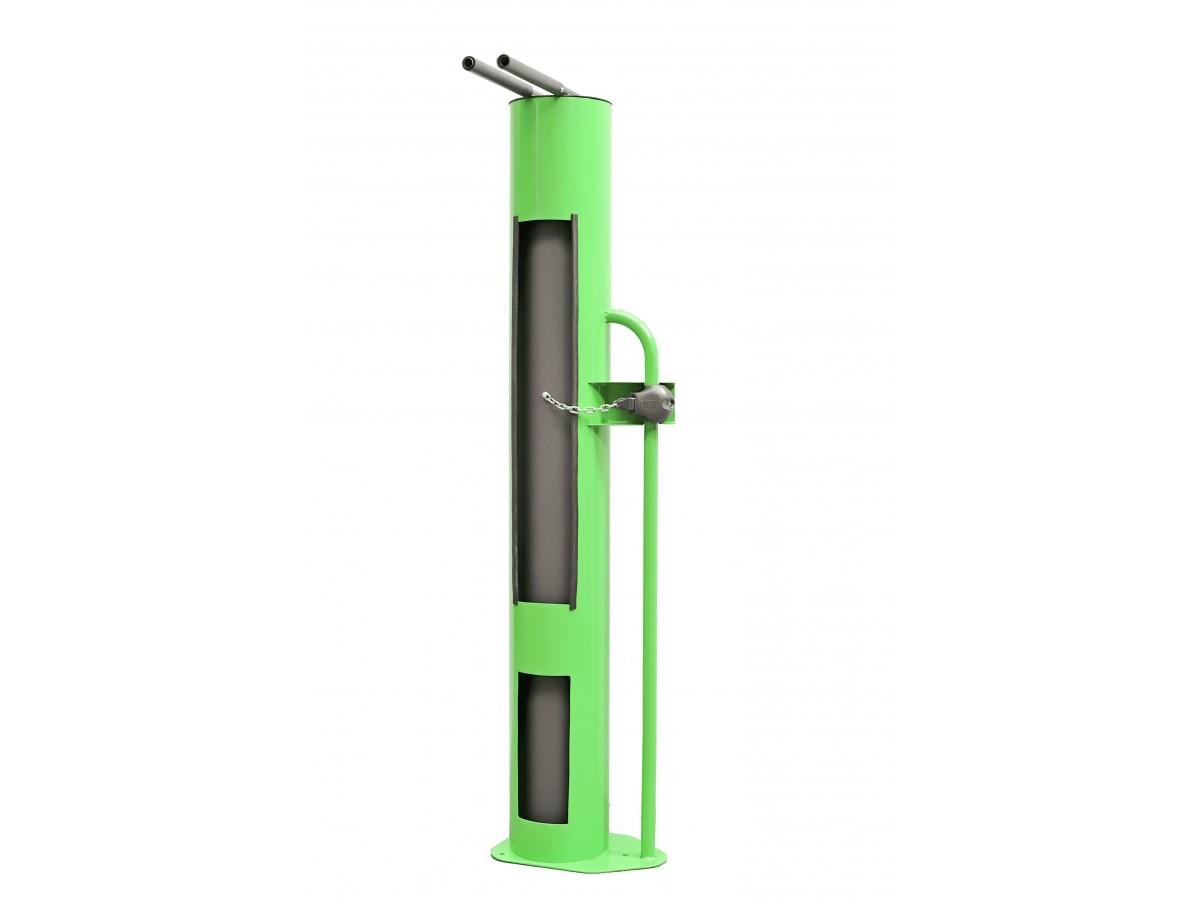 Estació d'autoreparació tubular amb eines i inflador inclòs a l'interior