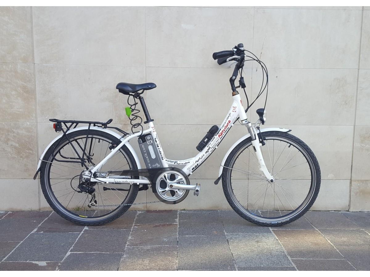 Bicicleta elèctrica Uualk Sun 2014