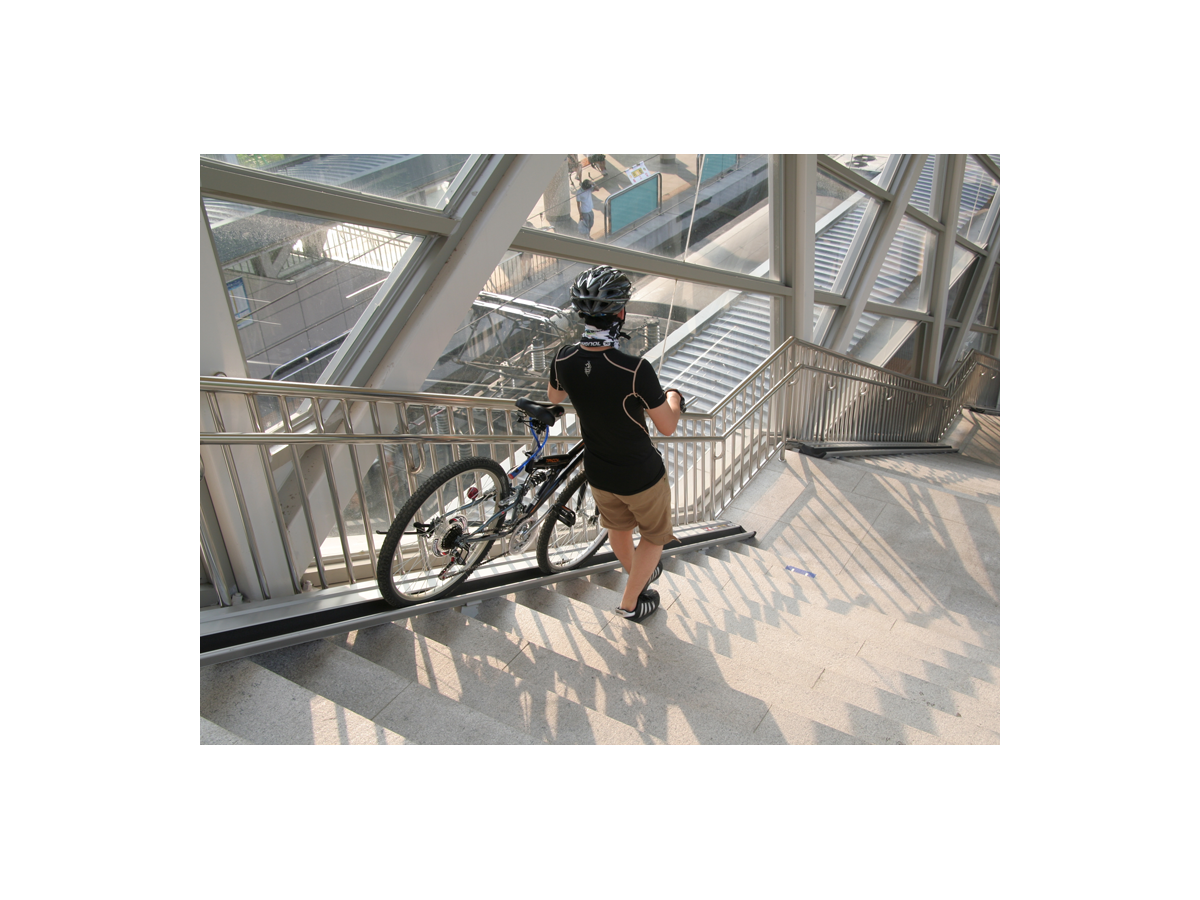 Guia Deluxe per a bicicletes en escales