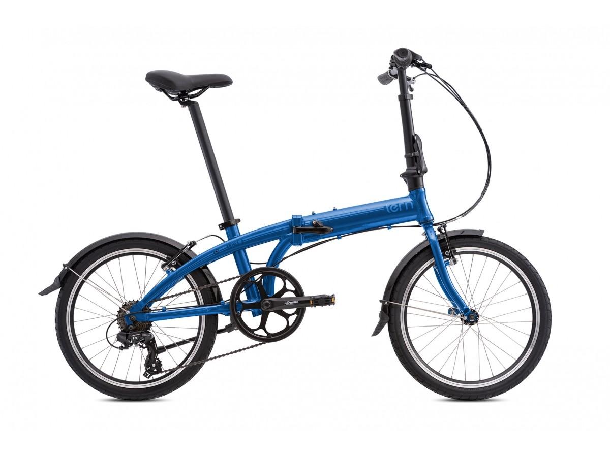 Bicicleta plegable Tern Link A7 2018