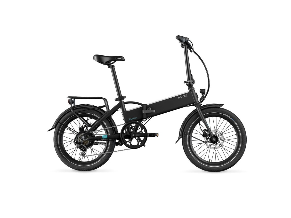Bicicleta elèctrica plegable Legend Monza Smart