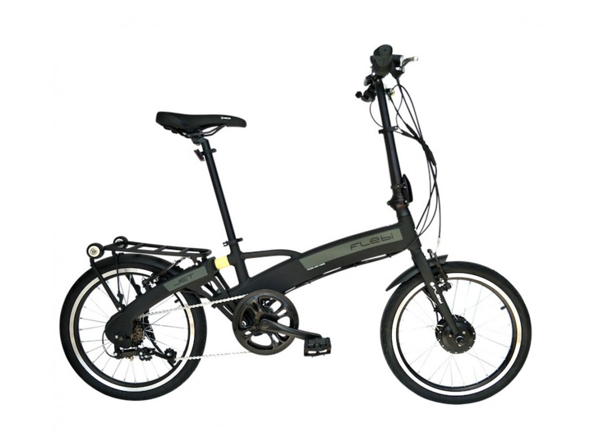 Bicicleta eléctrica plegable Flebi Jet