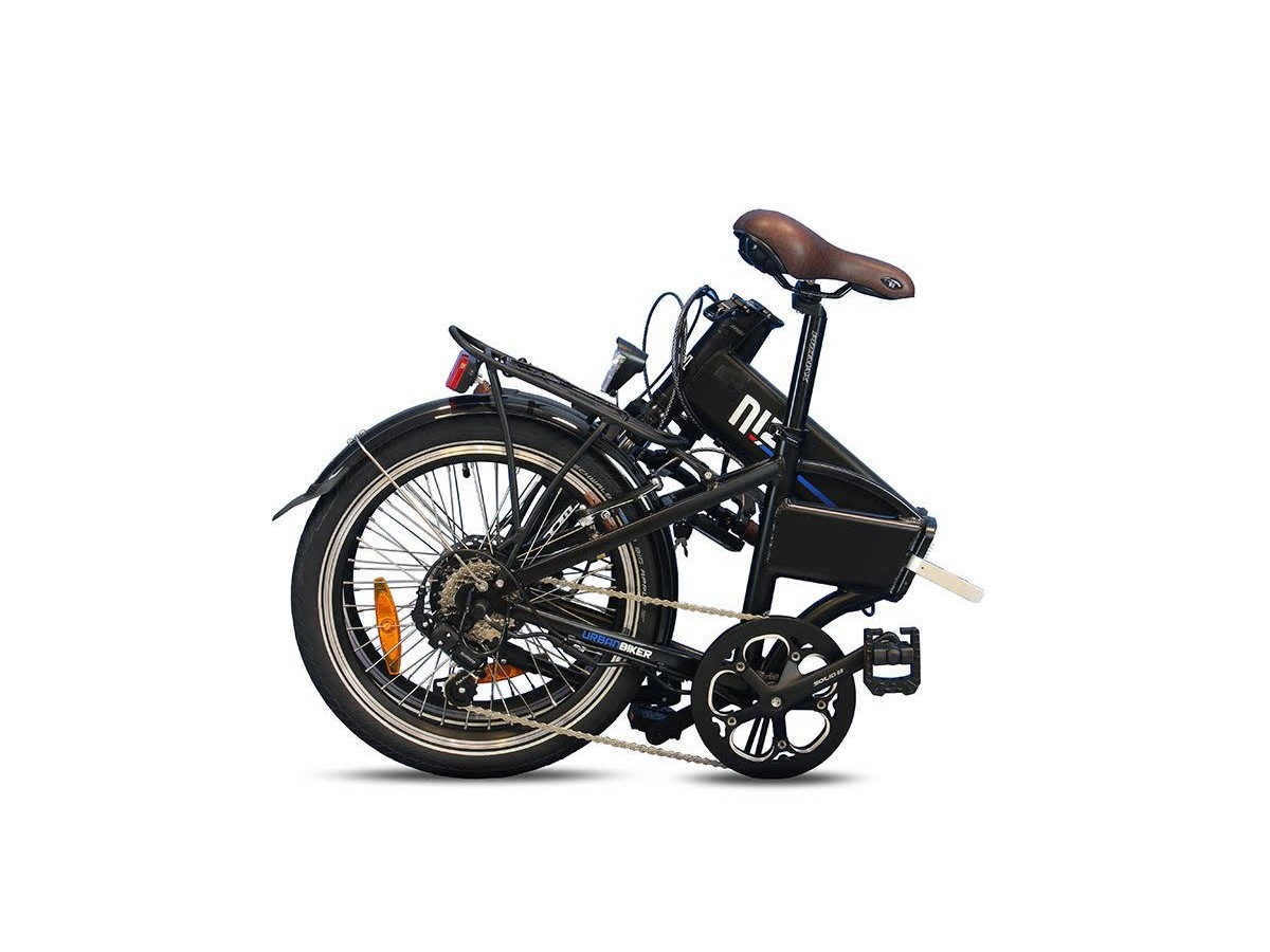 Bicicleta eléctrica plegable Urbanbiker Niza