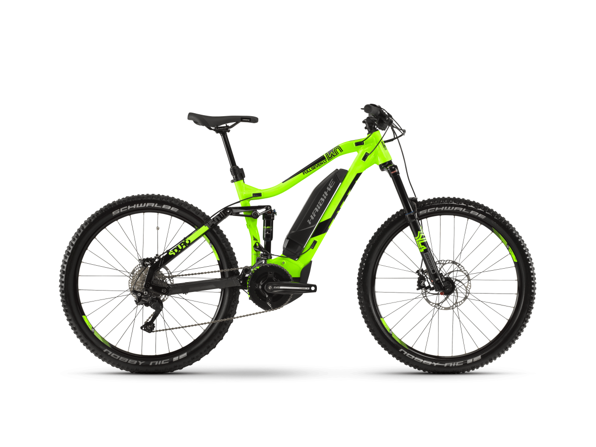Electric Mountain Bike Haibike SDURO FullSeven LT 4.0