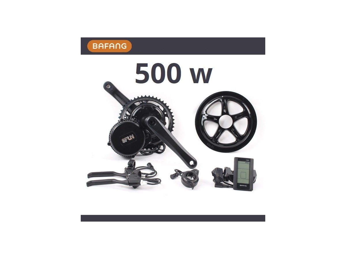 Kit central motor Bafang 500W + battery 11Ah