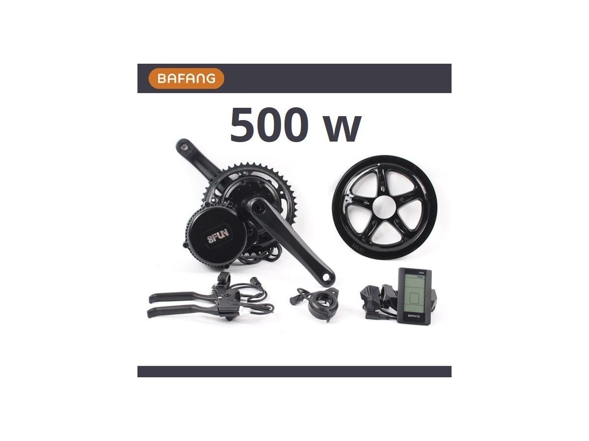 Kit de motor central Bafang 500W + bateria 11Ah