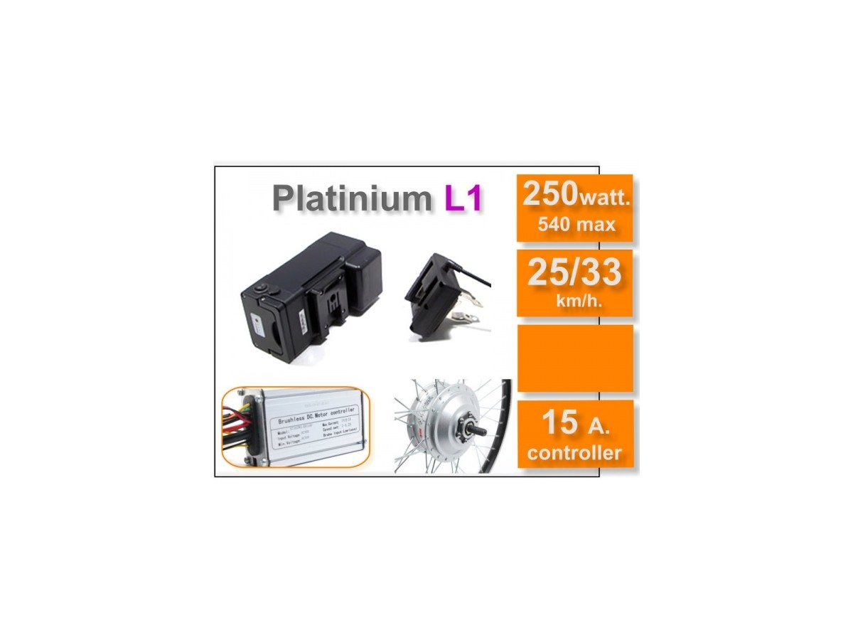 Kit hub motor Basic 250W + battery 11Ah