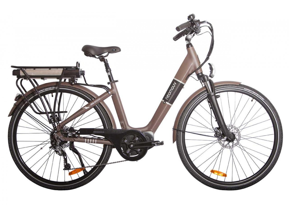 Bicicleta eléctrica urbana Neomouv Iris Brose