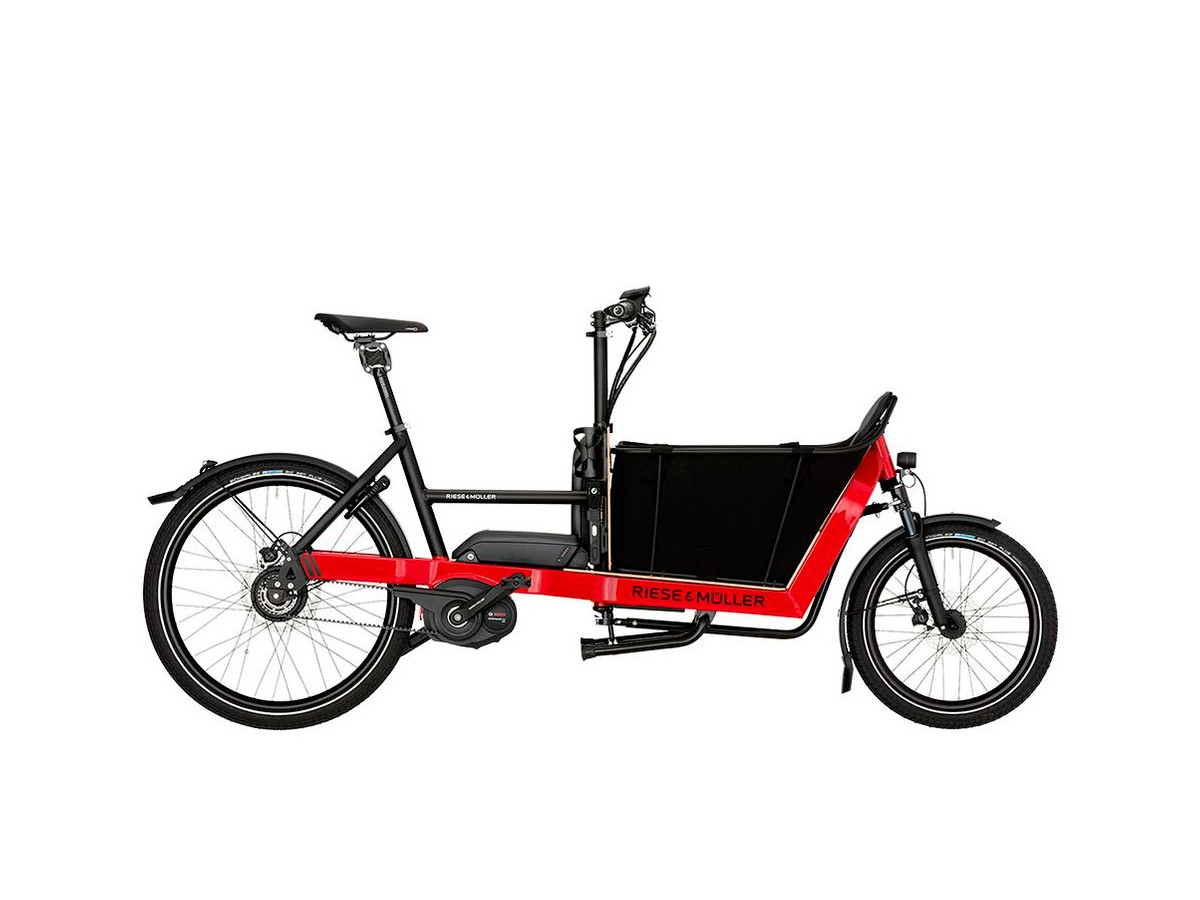 Bicicleta elèctrica cargo Riese & Müller Packster 40