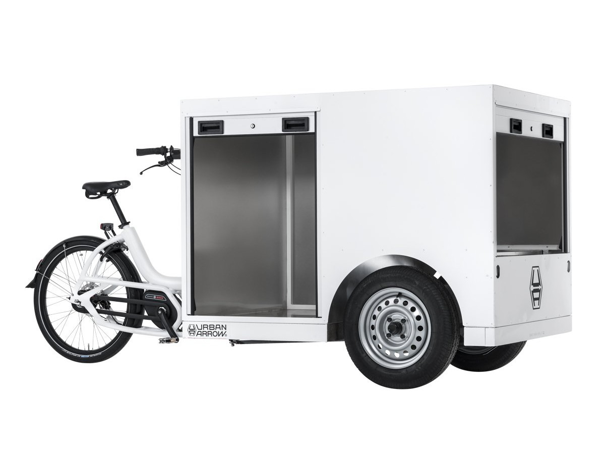 Bicicleta elèctrica de càrrega Urban Arrow Tender