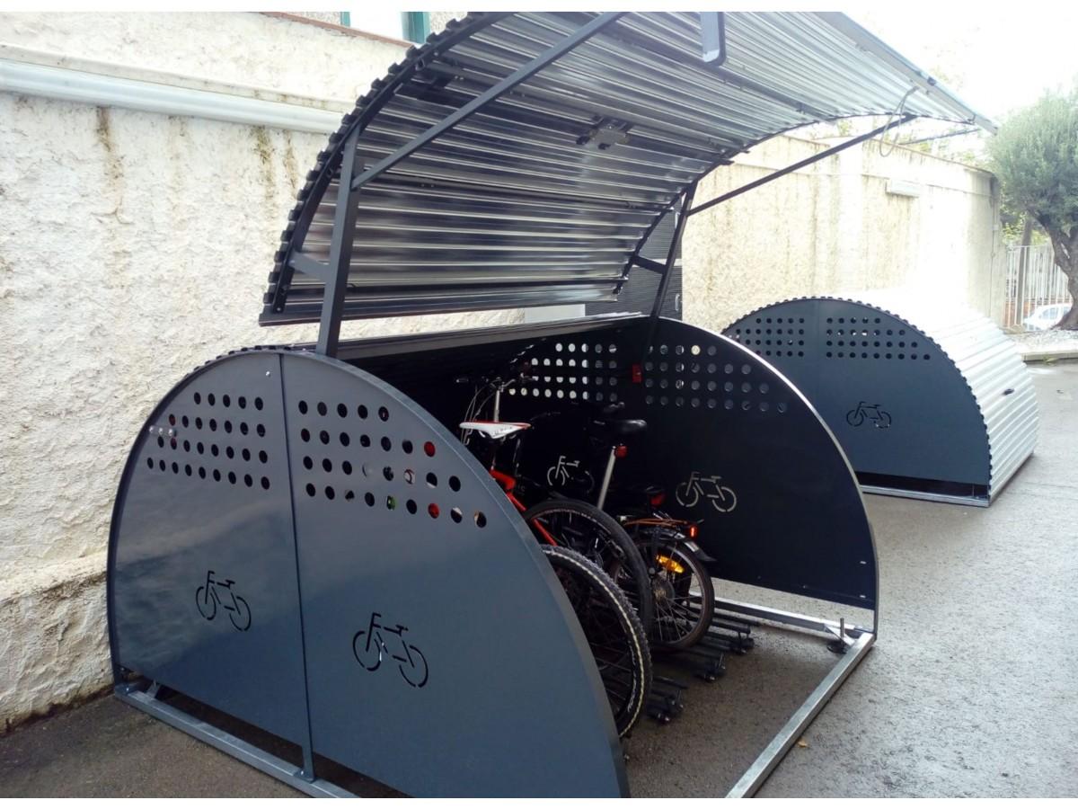 Box modular para 5 bicicletas