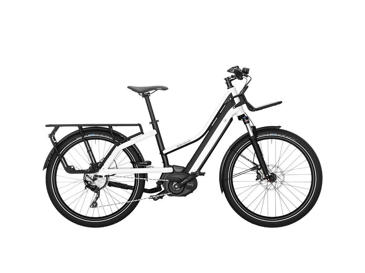Bicicleta elèctrica de càrrega Riese & Müller Multicharger Mixte Light