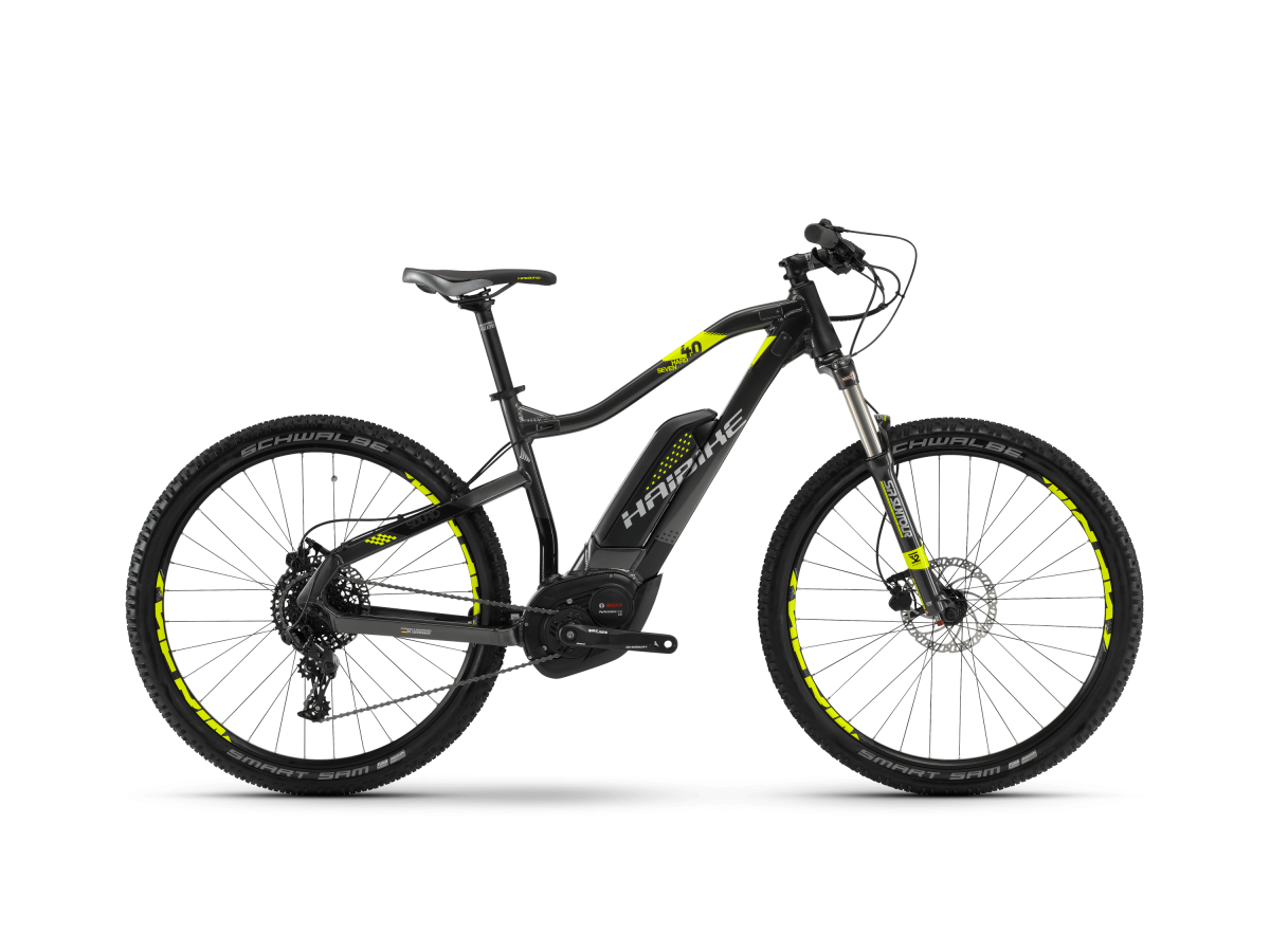 Electric mountain bike Haibike Sduro Hardseven 4.0 - 2018