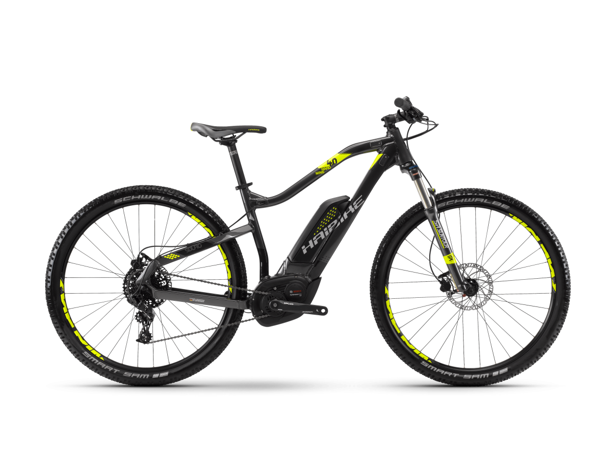 Electric mountain bike Haibike Sduro Hardnine 4.0 - 2018