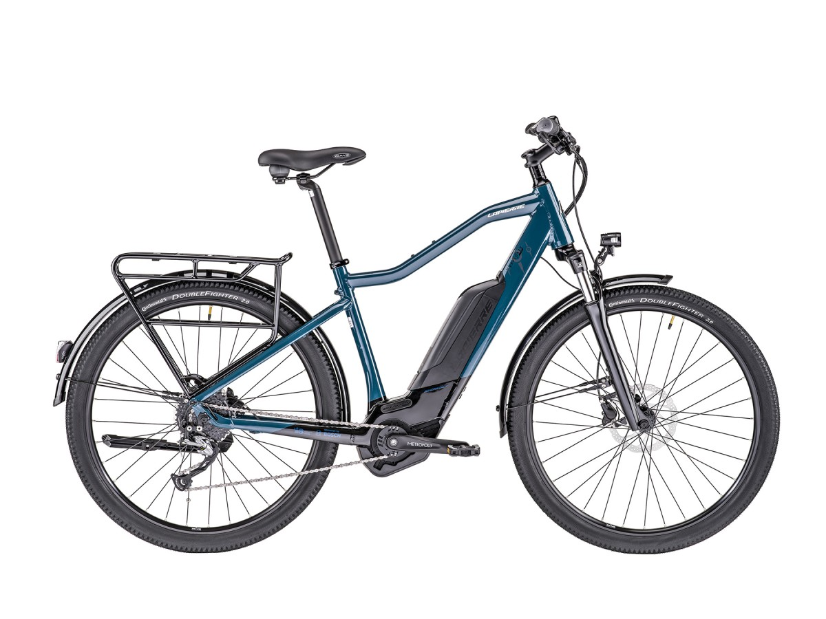 Bicicleta elèctrica polivalent Lapierre Overvolt Explorer 600 SI Bosch 400Wh