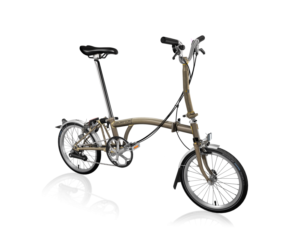 Bicicleta plegable Brompton M6L Acer lacat
