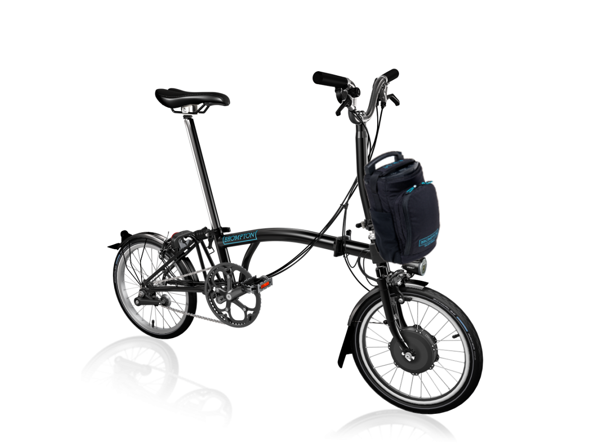 Folding Bike Brompton Electric M6L - Black
