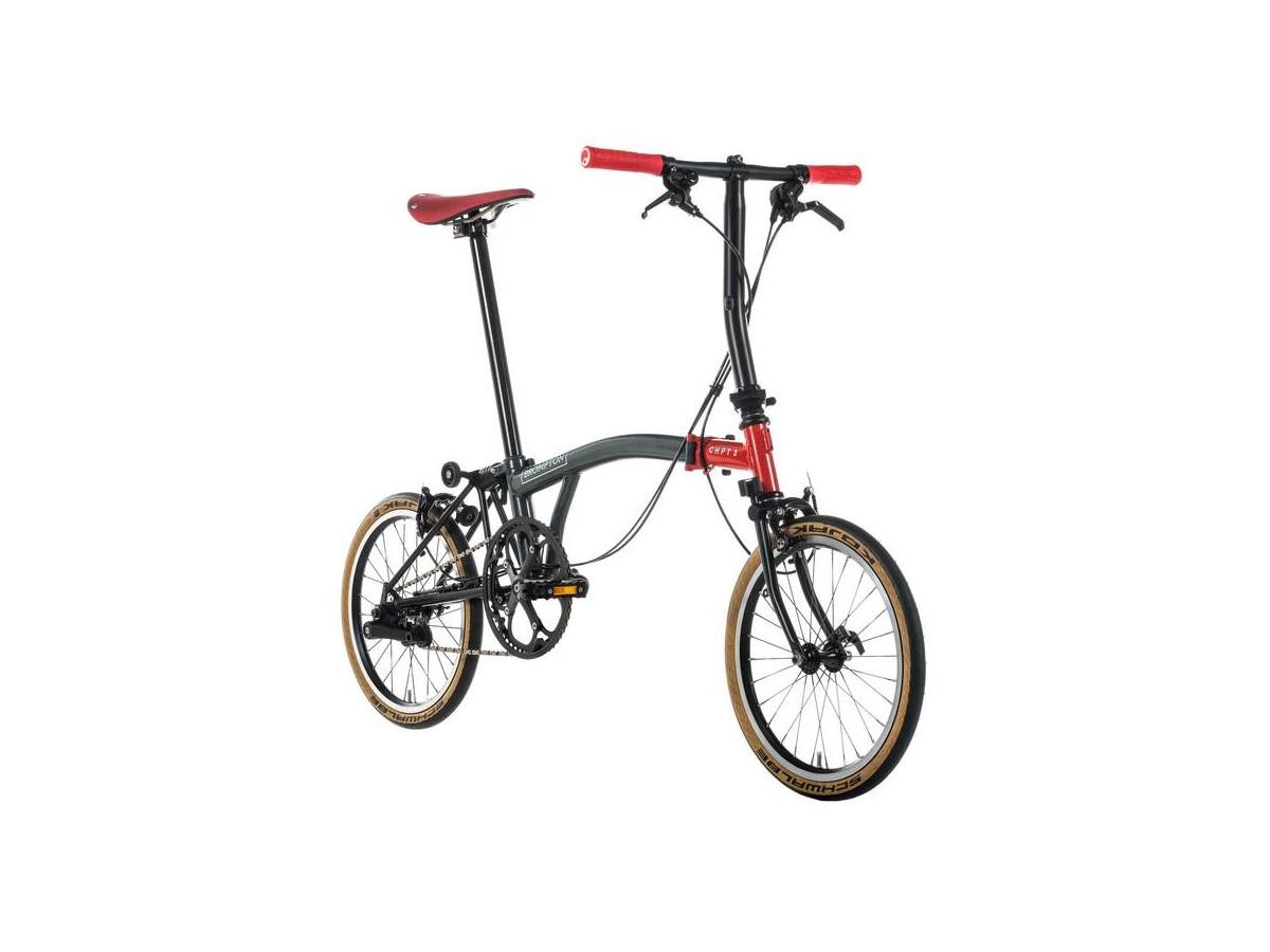Bicicleta plegable Brompton CHPT3 S6E 2018