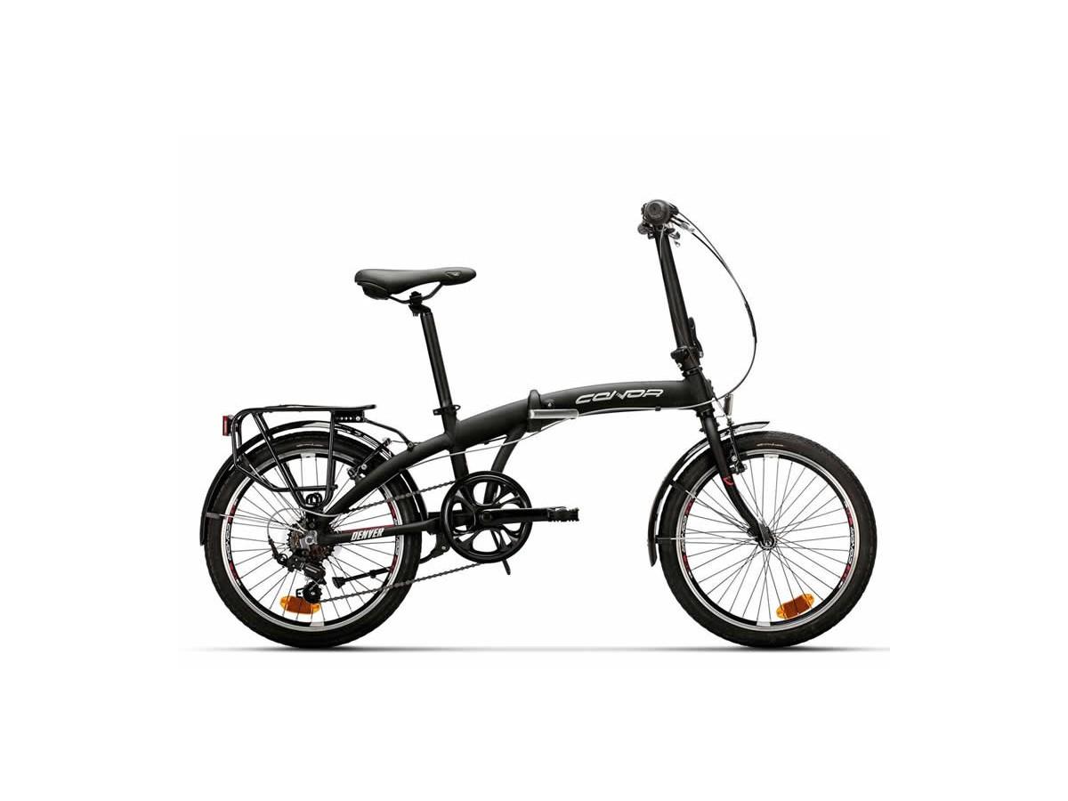 Bicicleta plegable Conor Denver Negre