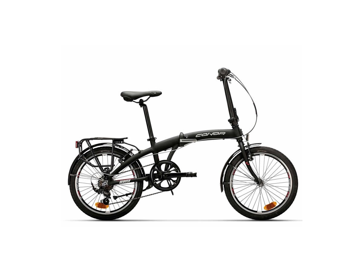 Bicicleta plegable Conor Denver Negro