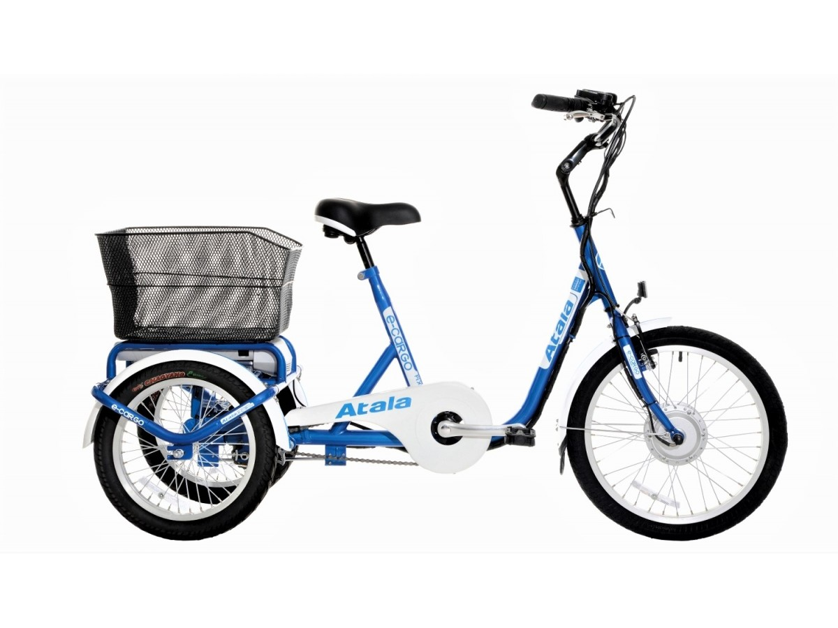 Electric tricycle Atala e-Cargo