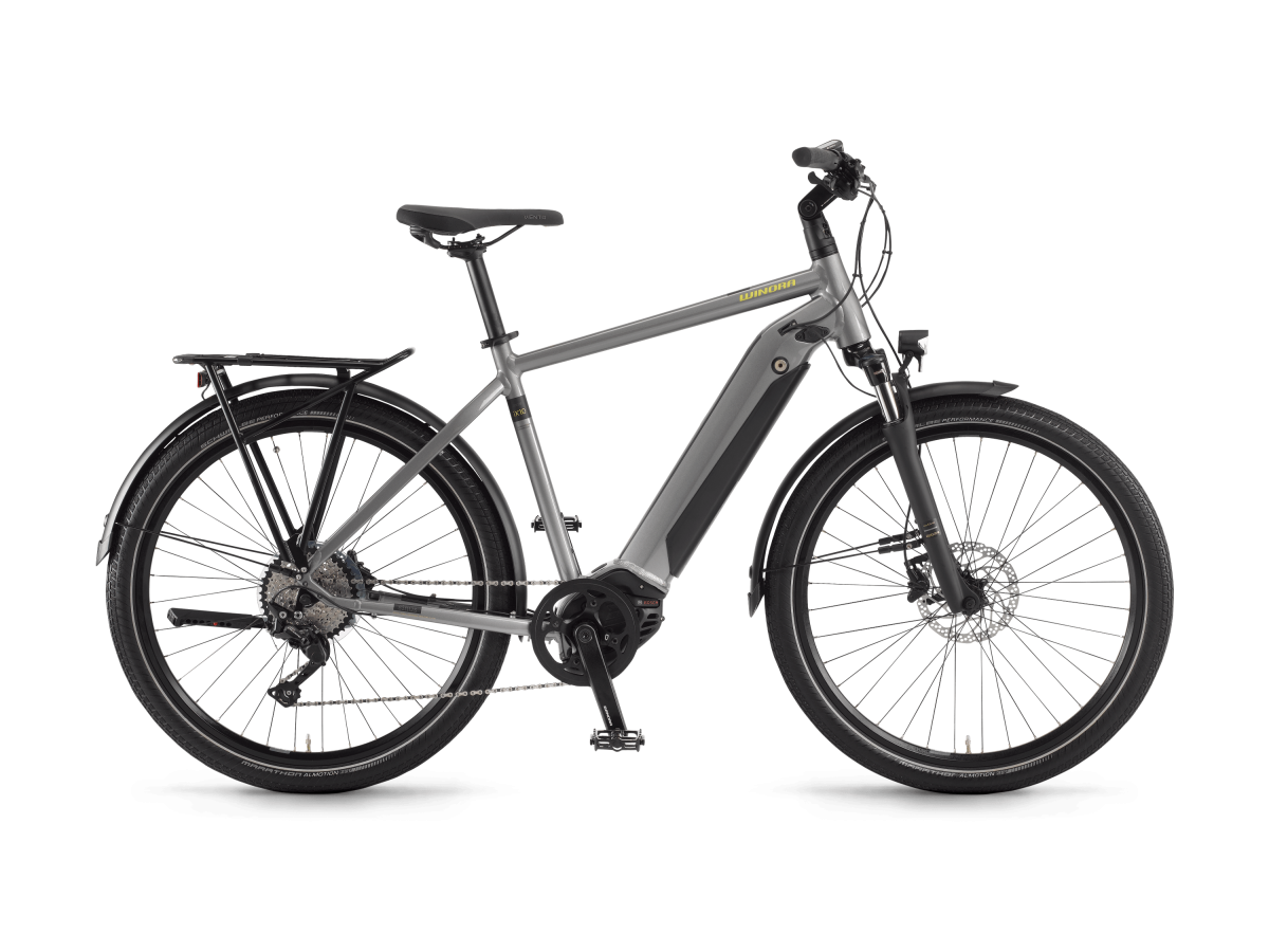 Multipurpose electric bike Winora Sinus iX10