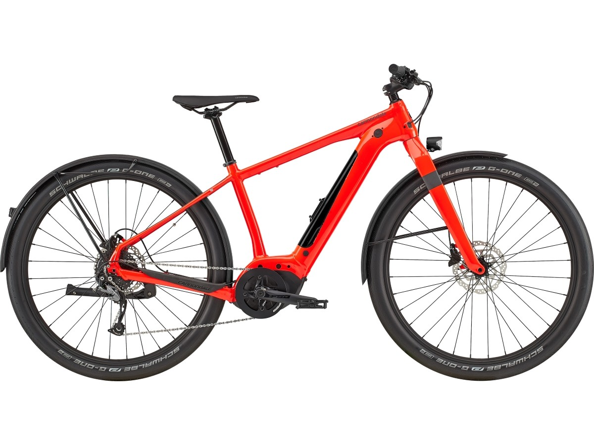 Electric urban bike Cannondale CANVAS NEO 2 2020