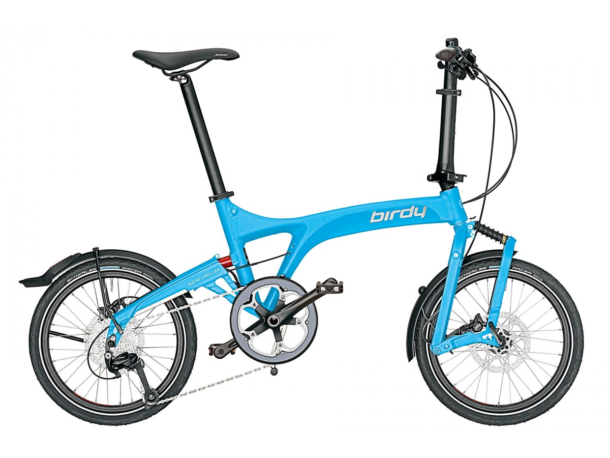Folding bike Riese & Müller Birdy Touring