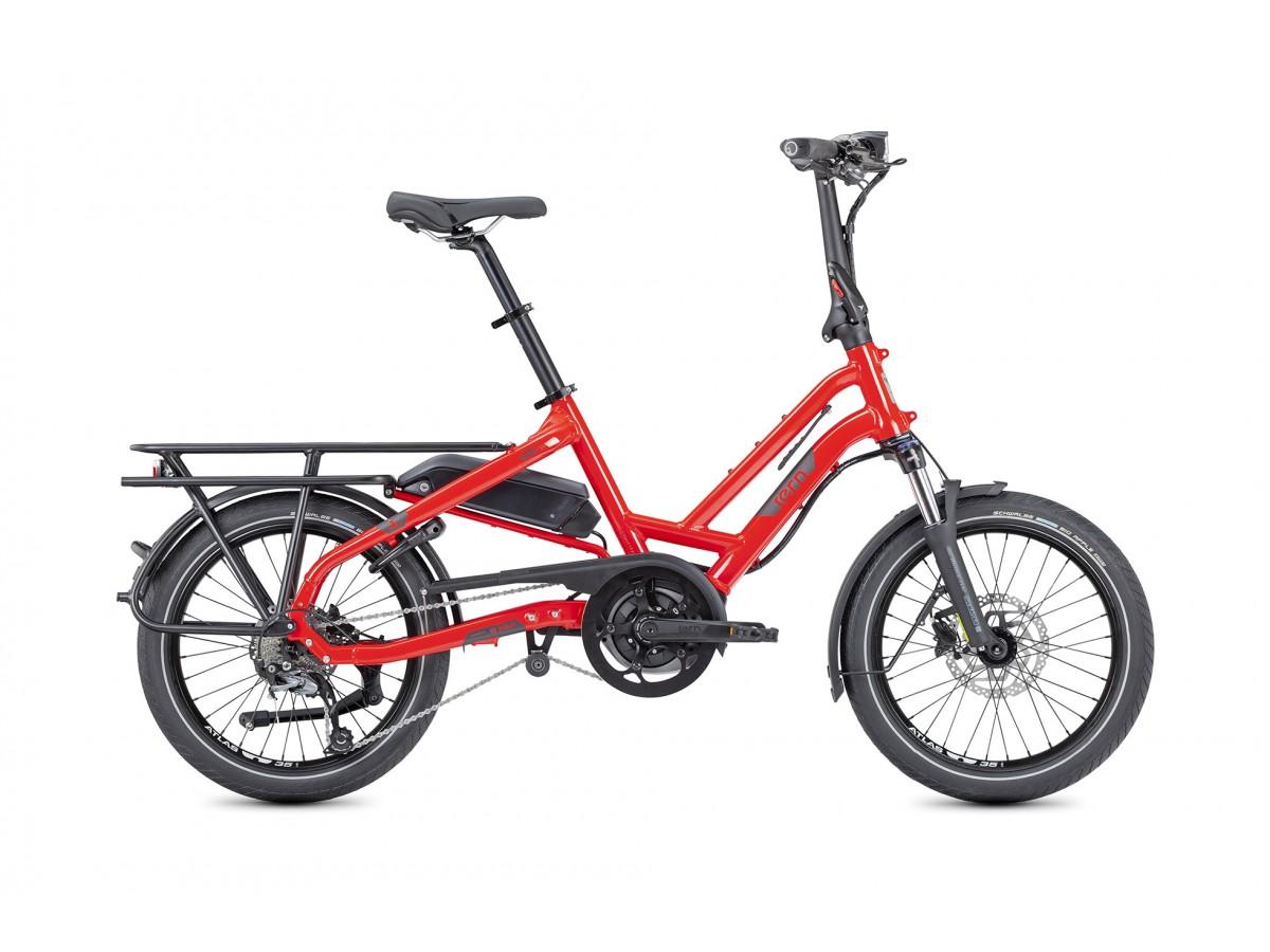 Bicicleta eléctrica de carga compacta Tern HSD P9