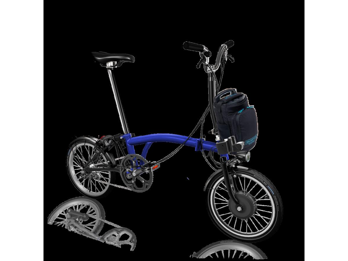 copy of Folding Bike Brompton Electric M2L - White