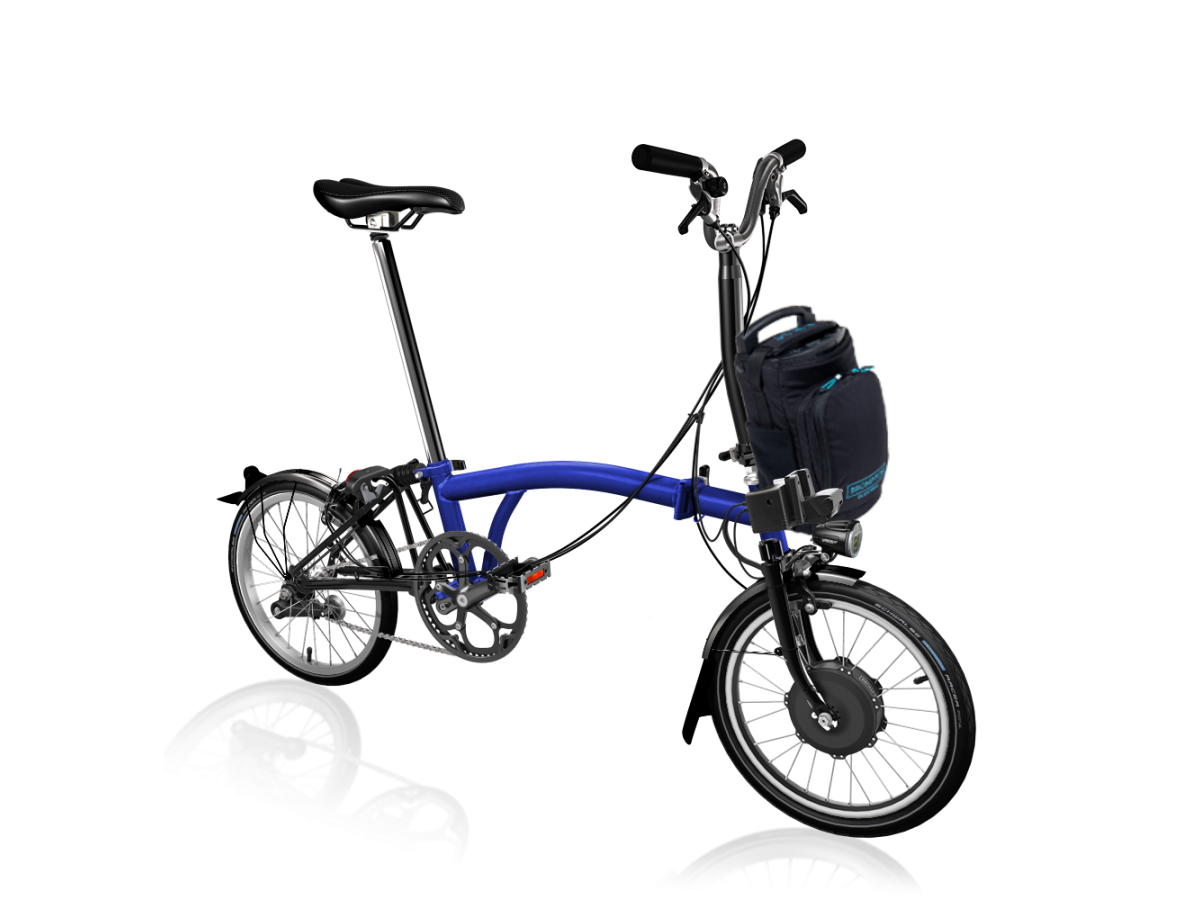 Folding Bike Brompton Electric M2L - Bolt Lacquer