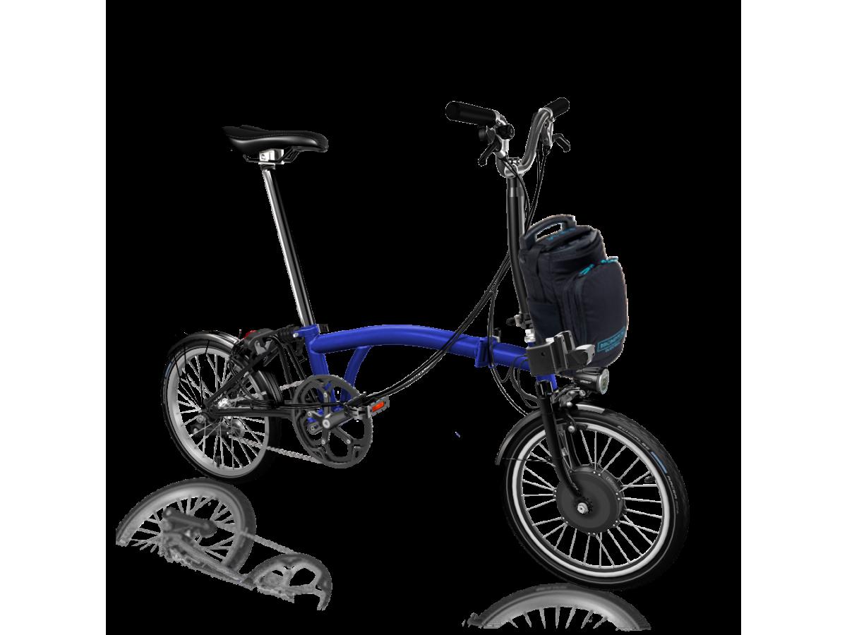 copy of Folding Bike Brompton Electric M6L - White