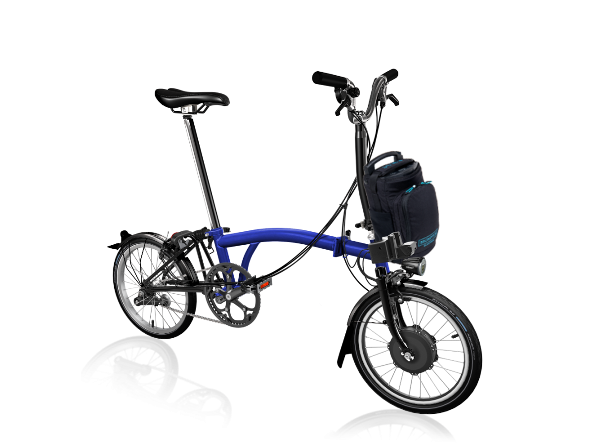 Folding Bike Brompton Electric M6L - Bolt Lacquer
