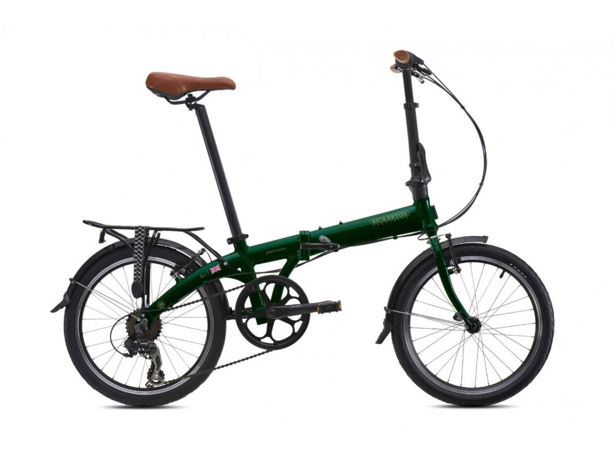 Bicicleta plegable Bickerton Junction 1507 Country British Racing Green
