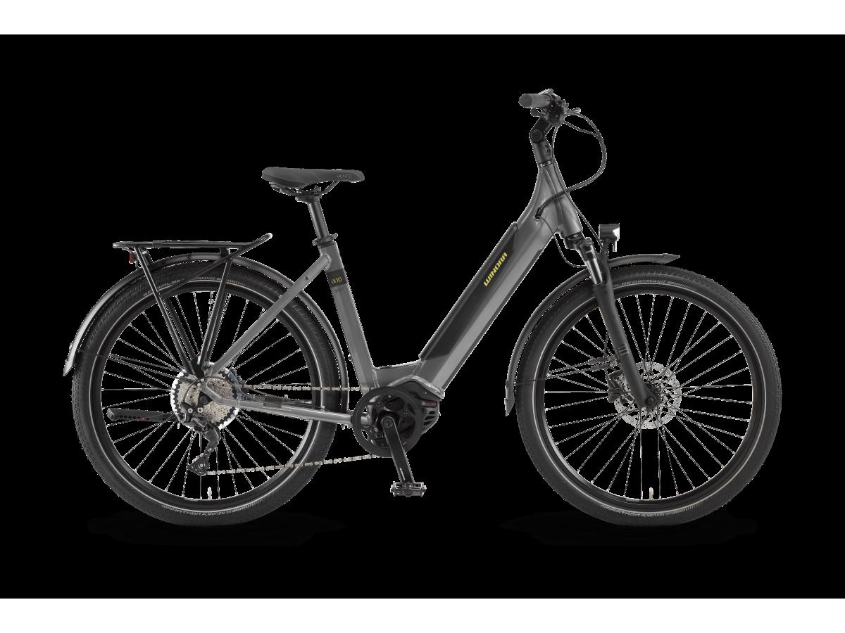 Bicicleta eléctrica polivalente Winora Sinus iX10 barra baja