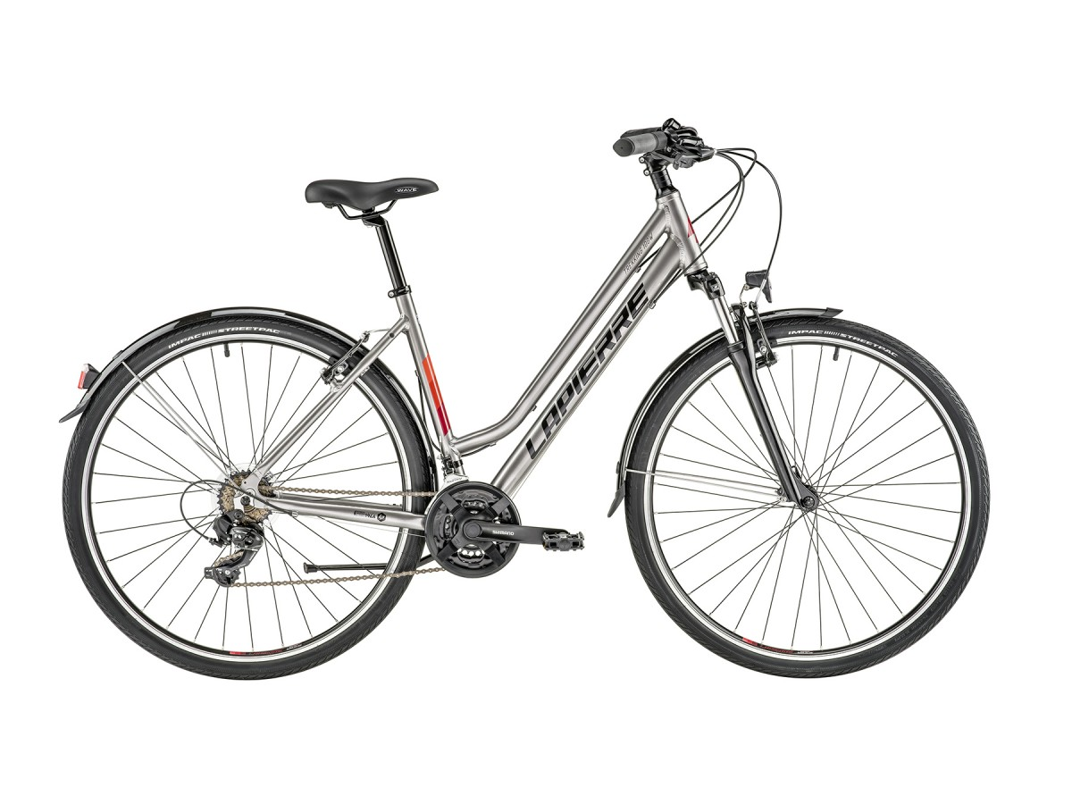 Bicicleta urbana Lapierre Trekking 100 Women Series