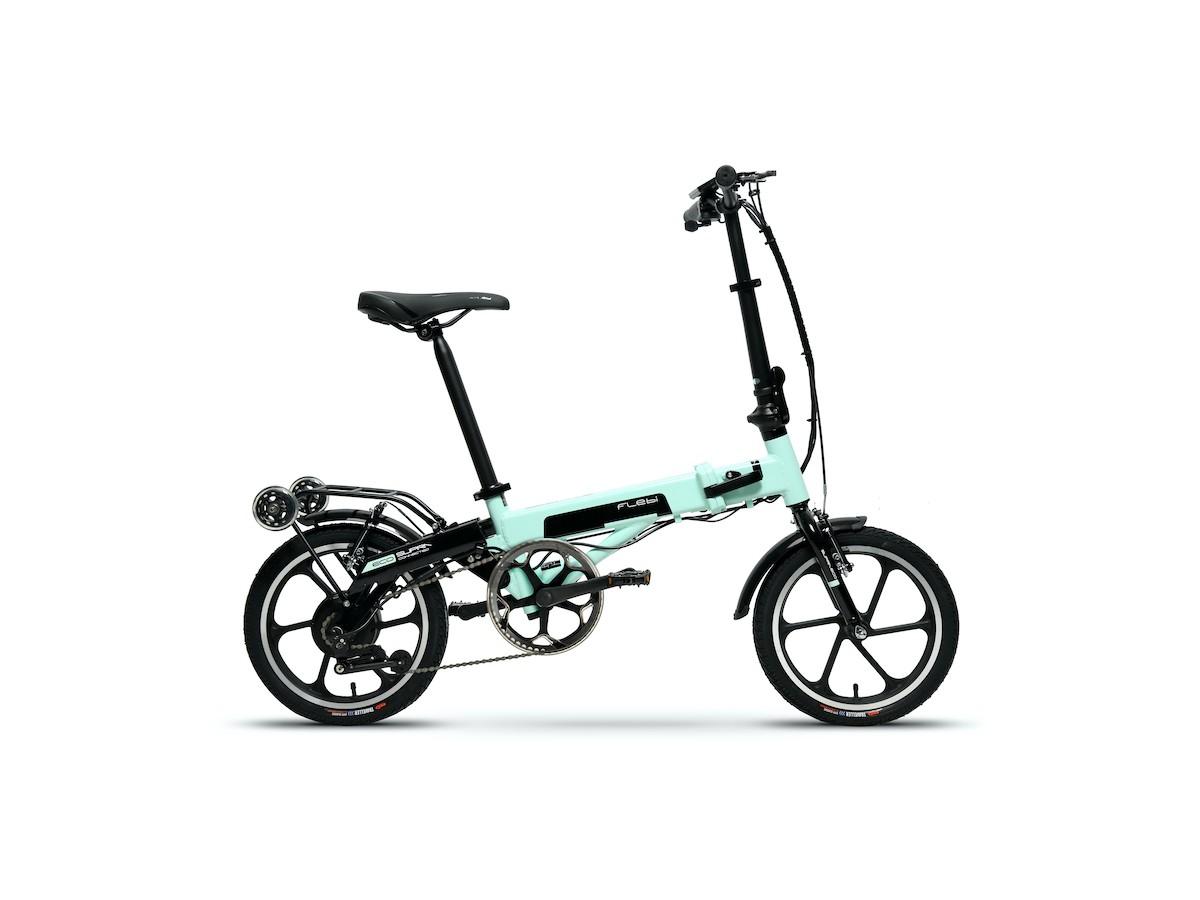 Bicicleta eléctrica plegable Flebi Supra Eco