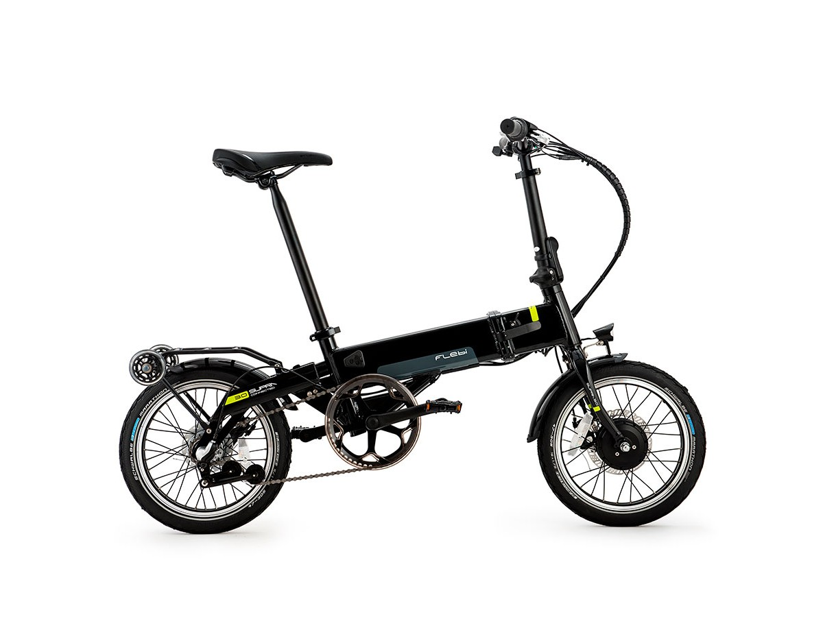 Bicicleta eléctrica plegable Flebi Supra 3.0