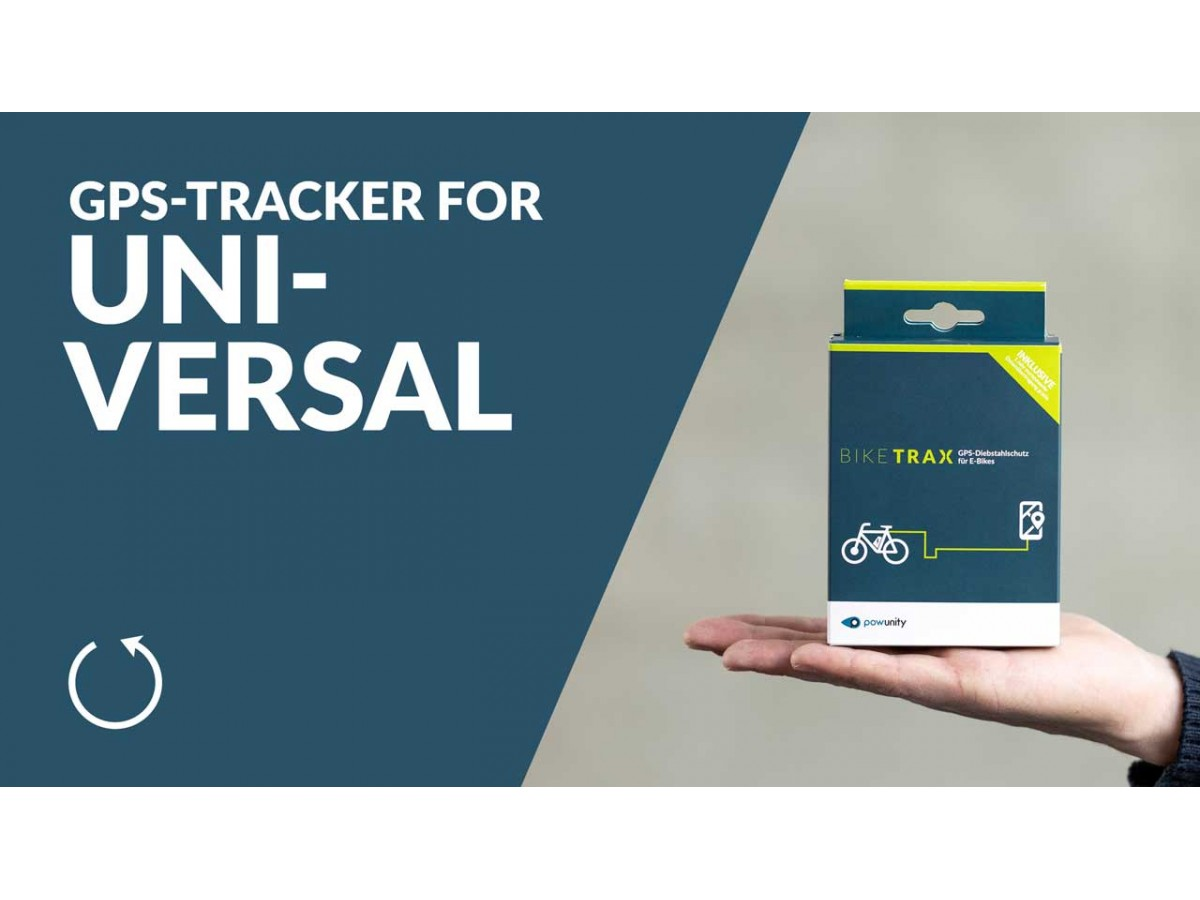 BIKETRAX - GPS Universal Tracker for Ebike
