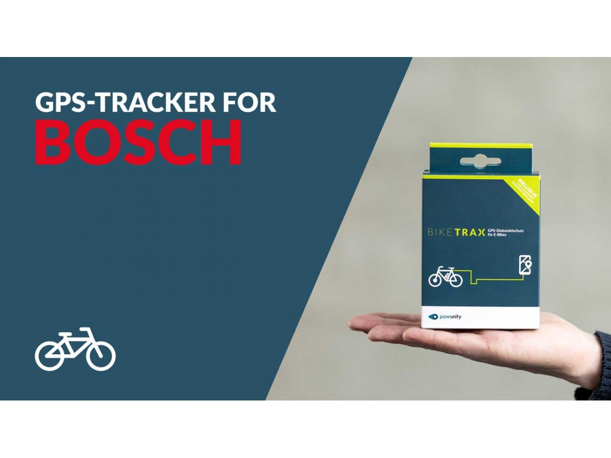 BIKETRAX - GPS Tracker for Bosch Ebike