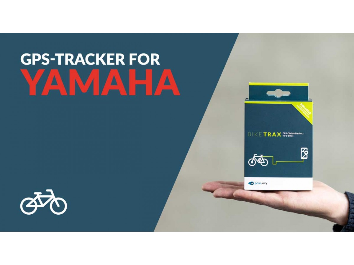 BIKETRAX - GPS Tracker for Yamaha Ebike
