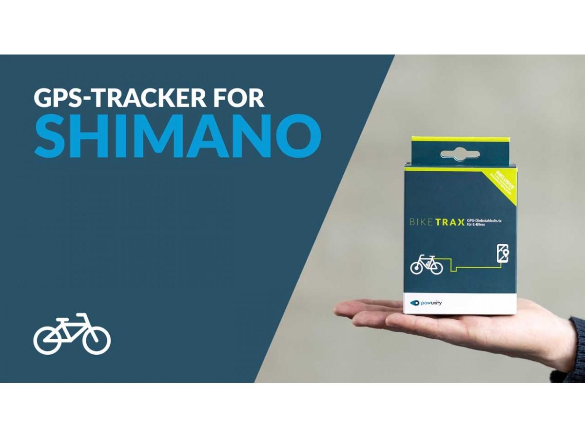 BIKETRAX - GPS Tracker para bicicleta eléctrica Shimano