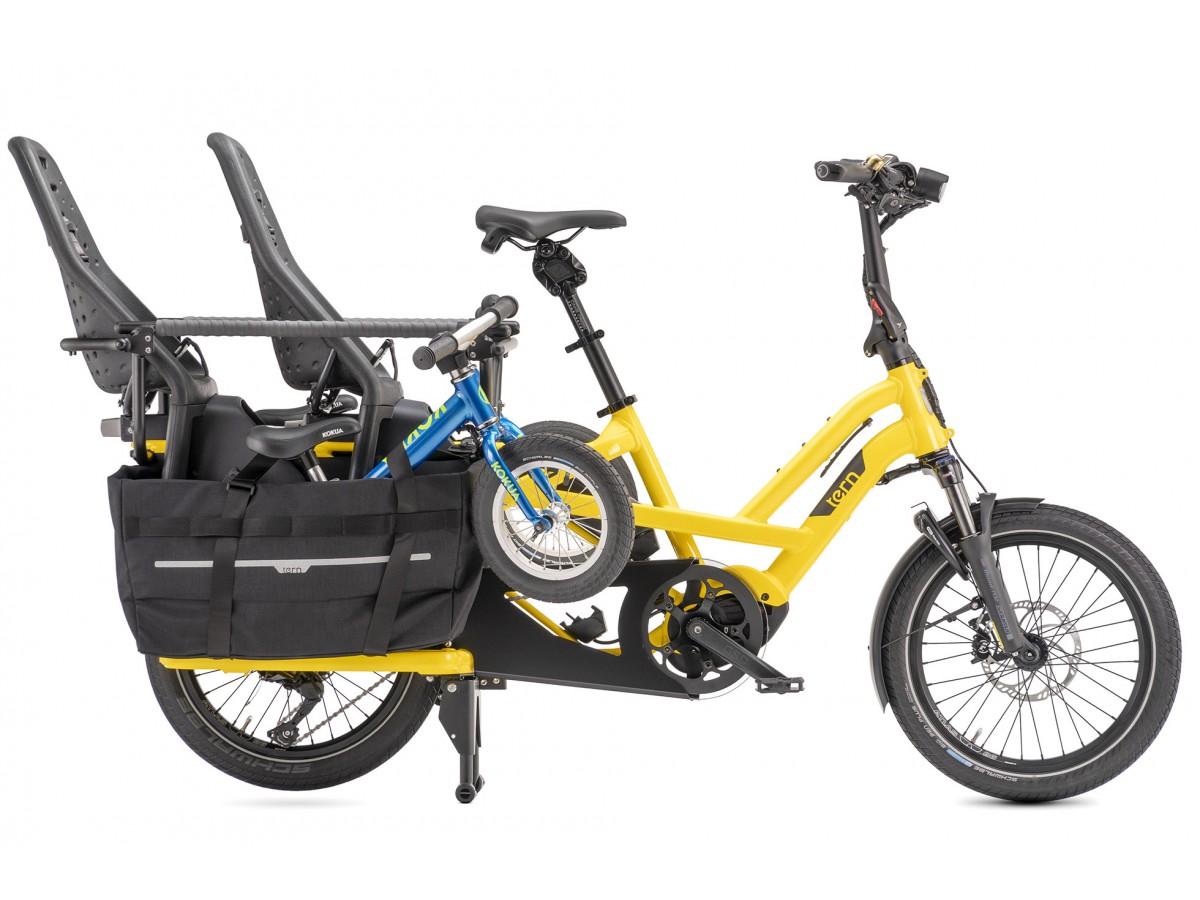 Bicicleta elèctrica de càrrega compacta Tern GSD S10 LR