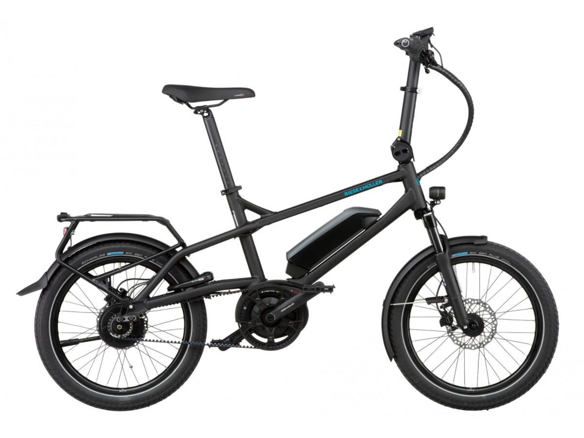 Bicicleta eléctrica compacta Riese & Müller Tinker Vario