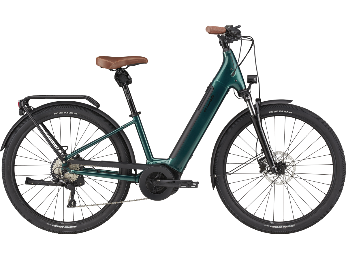 Bicicleta eléctrica urbana Cannondale Adventure Neo 1 EQ