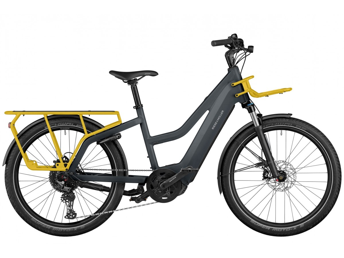 Bicicleta eléctrica de carga Riese & Müller Multicharger Mixte GT Light
