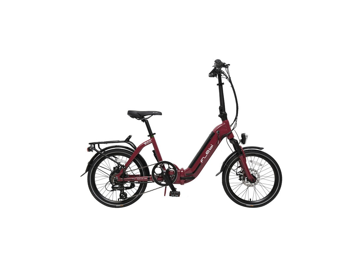 Bicicleta eléctrica plegable Flebi Swan Lite